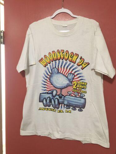 Vintage Woodstock Tour T-Shirt 1994 90s Cranberrie