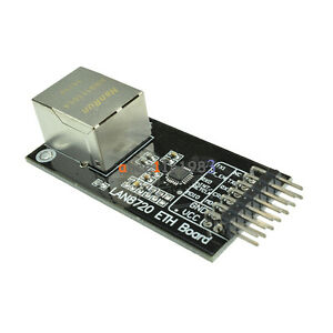 Supports RMII Interface Phy 3.3V Supply Supports HP Auto-MDIX Ethernet Module High-Performance 10//100 Ethernet Transceiver Original DP83848C Chip Onboard.