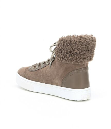 faux 7 Edelman Size Luther con scamosciata Stivaletti pelle 5m Sam shearling Womens in IPFqxSZwd