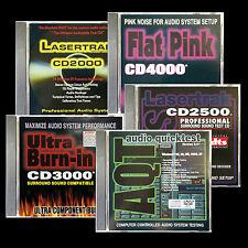 AUDIO TEST CD SET of 5 CALIBRATION and Setup Discs Plus and Awesome Bonus App