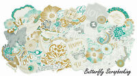 Elegance Collection Scrapbooking 50 Die Cuts Collectables Kaisercraft