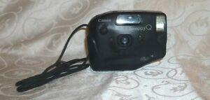 Vintage-Canon-SnappyQ-35mm-Film-Camera-WORKS