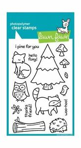 Lawn-Fawn-Clear-Stamps-Set-Critters-In-The-Forest-LF314-NEW