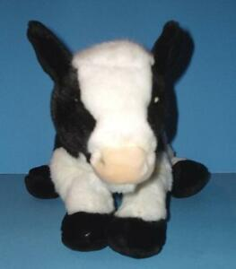 Black n White Calf Cow Plush Only No Code Retired Signature Webkinz WKS 1013 EUC
