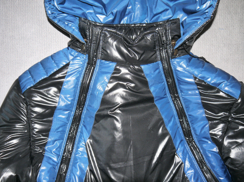 Glanznylon Skioverall BOK+  -   schwarz, blau, grau, marineblau XS-4XL 6 mm