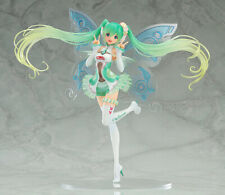 New in Box 23CM Hatsune Miku Vocaloid Racing Girl Version 2017 Anime Figure