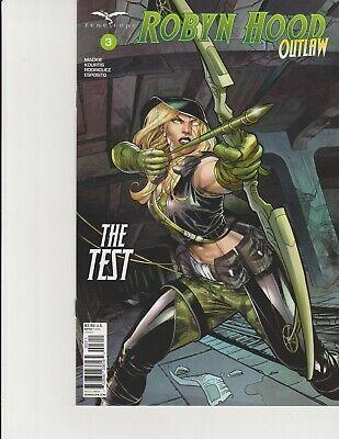 GFT ROBYN HOOD LEGEND #3 Cover A NM Zenescope Comic Vault 35