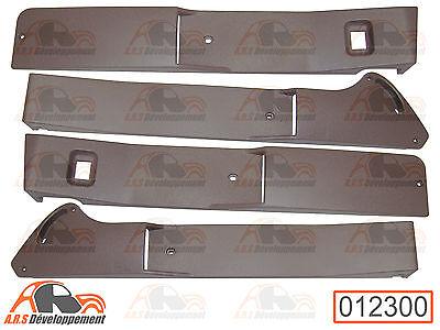 BANDEAUX marron NEUFS pour les 4 portes (AVD AVG ARD ARG) de Citroen 2CV -12300-