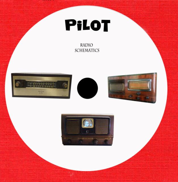 Pilot Tube Radio Repair Schematics On 1 Dvd In Pdf Format