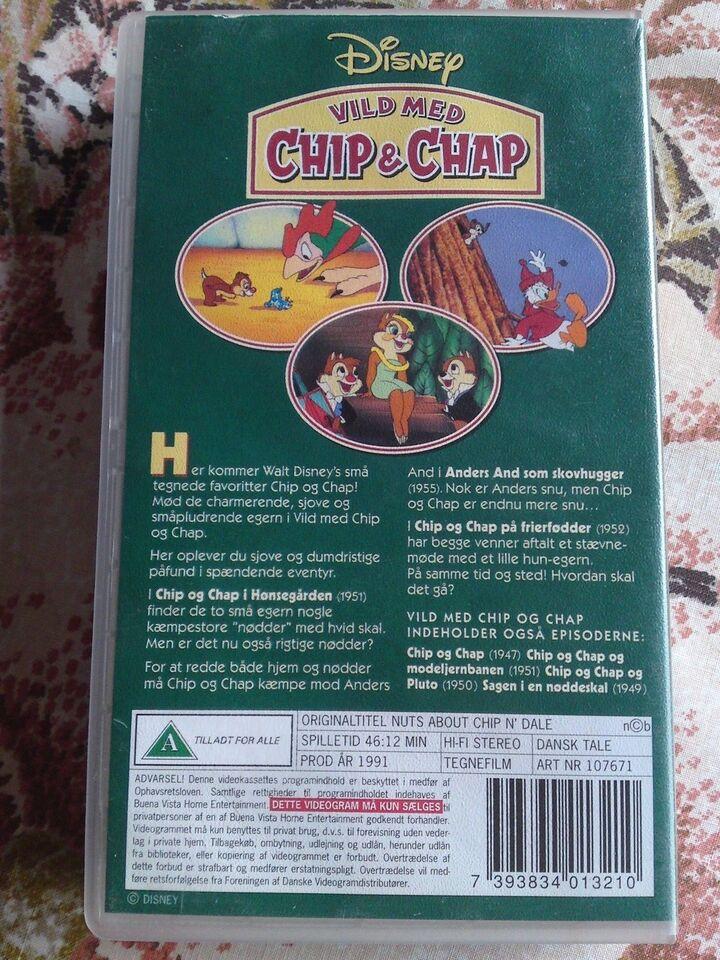 Tegnefilm, Vild med chip og chap (nuts about chip n´dale)