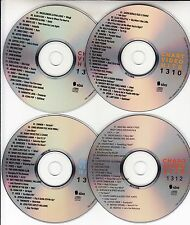 4 VCD's KATY PERRY AVICII MILEY CYRUS DAFT PUNK JESSICA MAUBOY JOHN NEWMAN PINK