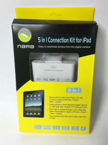 NARA 5-in-1 Connection Kit for iPad Photo Importer