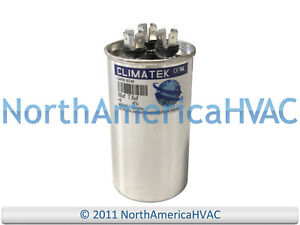 ClimaTek Round Capacitor fits Armstrong # R100355-46 50//7.5 uf MFD 370//440 Volt VAC