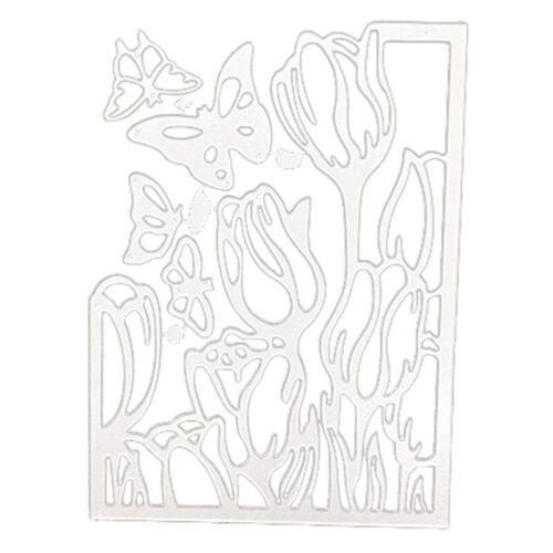 Butterfly Cutting Die Metal Stencil DIY Scrapbooking Embossing Paper Card Cr #US