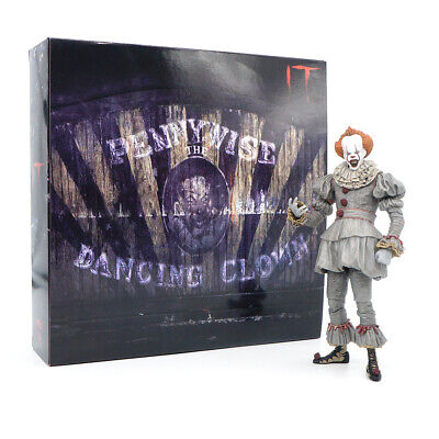 18CM NECA IT 2017 Pennywise The Clown Ultimate Movie Doll Action Figurine Statue