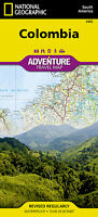Colombia Adventure Travel Map National Geographic Waterproof