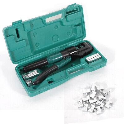 5T Hydraulische Presszange 4-70mm² Crimpzange Quetschzange Tool Mit 8x Lochförme