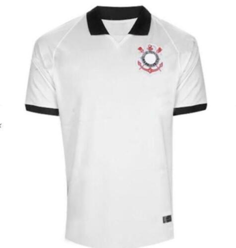 NEW20-2021 Corinthians Home//Away Soccer Jersey T-shirt man football S-XXL