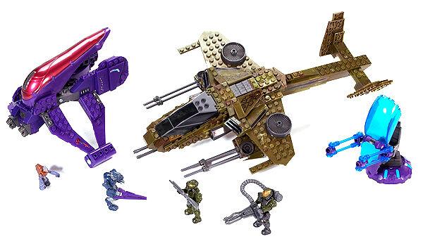 Brand New Halo Mega Bloks – 96810 Aerial Ambush - New