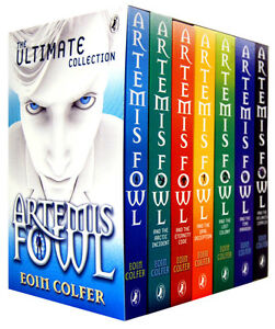 Artemis Fowl Collection 7 Books Gift Set Pack Eoin Colfer New