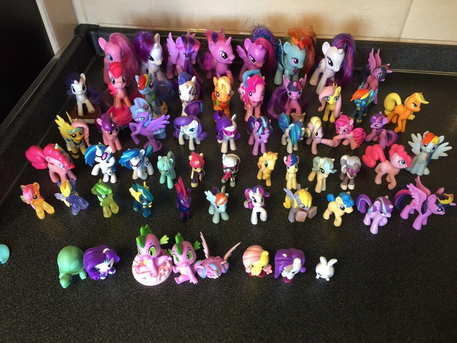 Hasbro My Little Pony  Mini Figure Lot of 50 pcs