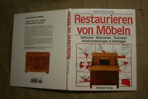 Fachbuch-Moebelrestaurierung-Restaurator-Moebelbau-Moebeltischler-Stilkunde