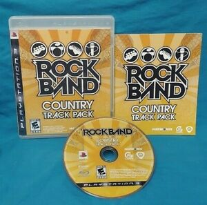 Rock-Band-Country-Track-Pack-Sony-PlayStation-3-PS3-Game-Complete-Working