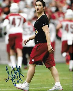 Jen-Welter-Signed-8x10-Photo-First-Woman-NFL-Coach-Arizona-Cardinals-Jennifer