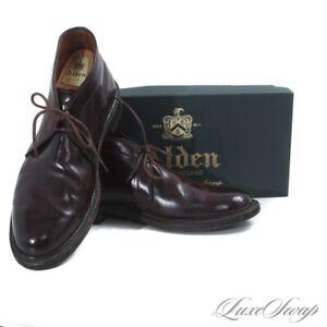 #1 MENSWEAR Alden Made in USA 1339C #8 Shell Cordovan Chukka Boots TREES BOX 8.5