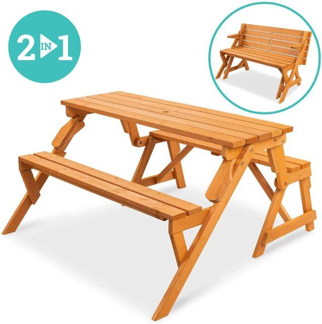 Union Rustic Testwuide Outdoor Teak Picnic Bench For Sale Online | EBay