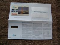 TK AT&T Telephonkarte / Phone Card TeleTicket Canusa  25 units  RAR !
