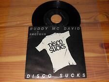 BUDDY MC DAVID - DISCO SUCKS / GERMANY VINYL 7'' SINGLE 1984 MINT-