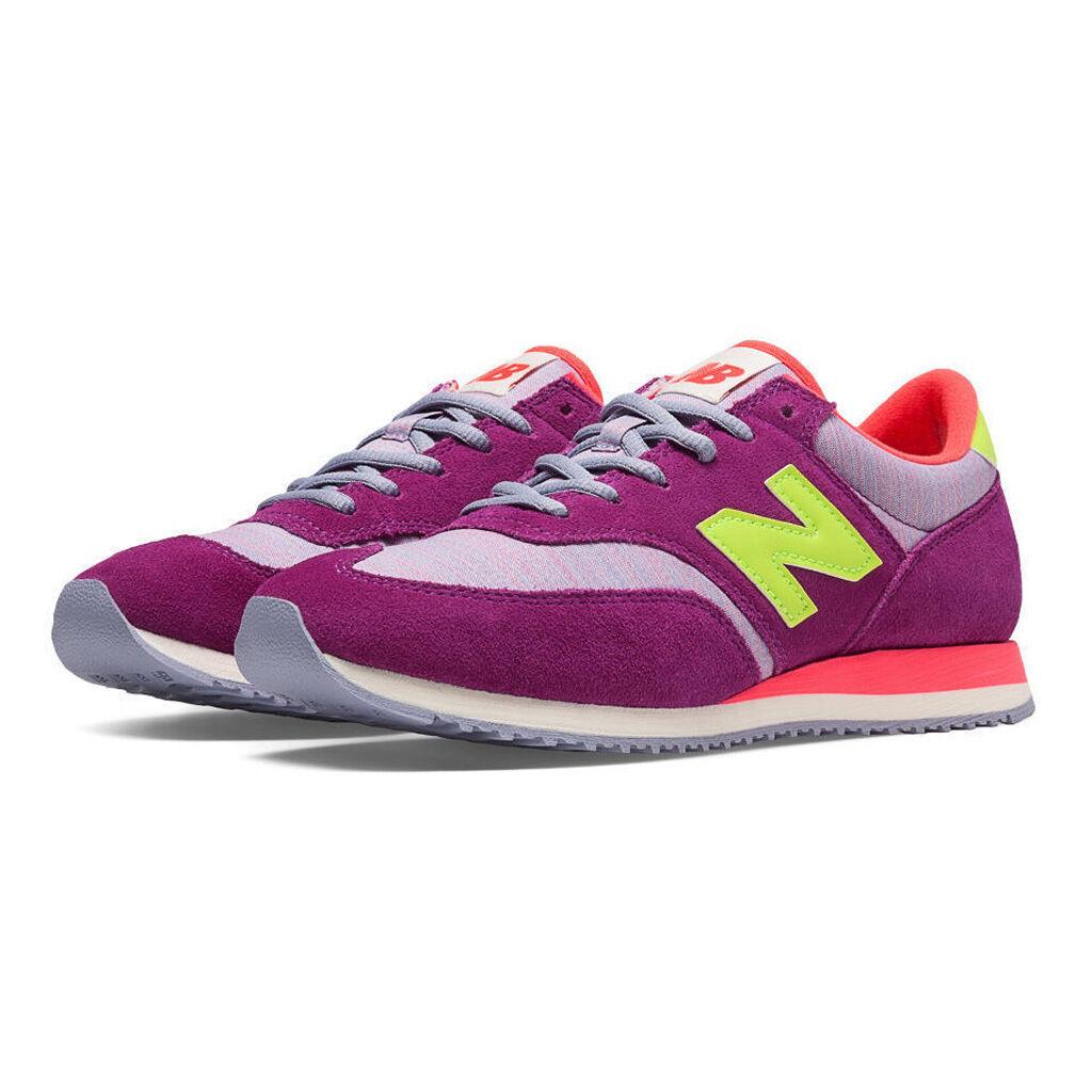NEU BALANCE CW620MY Violet Purple Green Lifestyle Retro Sneakers 7 7.5 8 8.5