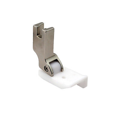 Leather Sewing Teflon Hinged Top-Stitching Presser Foot With Right Guide