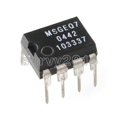 10pcs complément 7 bandes égaliseur graphique IC Mixed DIP-8 MSGEQ 7 Best