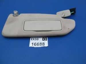03 - 10 11 12 13 XC90 Right Passenger Side Front roof Sun Visor Shade FLAP