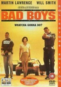 BAD-BOYS-Will-Smith-Martin-Lawrence-Michael-Bay-NEW-SEALED-UK-REGION-2-DVD-PAL