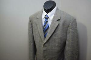 1620-Mens-Ermenegildo-Zegna-Soft-Silk-Wool-VTG-3-BTN-Blazer-Sports-Jacket-46-R