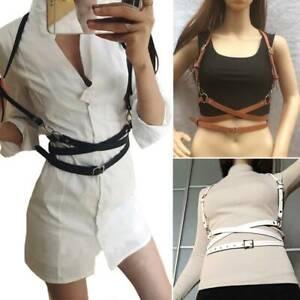 Women-Sexy-Faux-Leather-Belts-Body-Harness-Waist-Straps-Suspenders-Belt-Acce