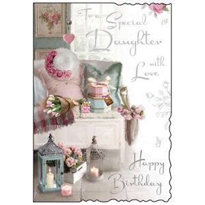 Image Is Loading Special Daughter Birthday Card Lovely Verse Beautiful Luxury