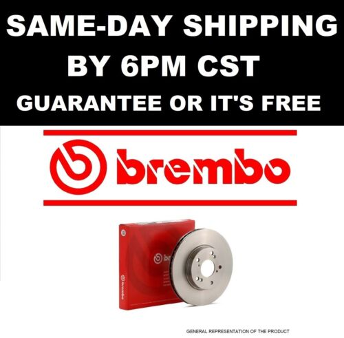 One Disc Brake Single Rotor-OE Replacement Front Brembo 09.A409.10