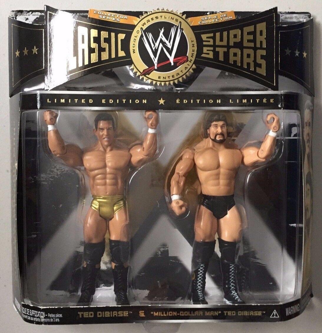 WWE Jakks Classic ToysRUs Exclusive MILLON DOLLAR MAN DIBIASE Wrestling Wrestling Wrestling Figures 60e612