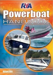 RYA-Powerboat-Handbook-by-Glatzel-Paul-NEW-Book-FREE-amp-Fast-Delivery-Paperb