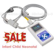 Baby Spo2 Oximeter Neonatal Infant Blood Oxygen O2 Pr Heart Rate Monitor Pc Sw