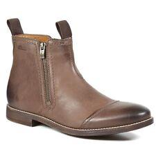 Clarks  Herren Novato Zip 8.5 schwarz Leder Chelsea Stiefel Größe 8.5 Zip     35ea62