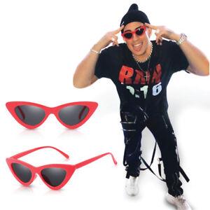 aab05b0a8a02e Bad Bunny Logo Printed Sunglasses x100PRE merch Cat Eye UV400 + FREE ...