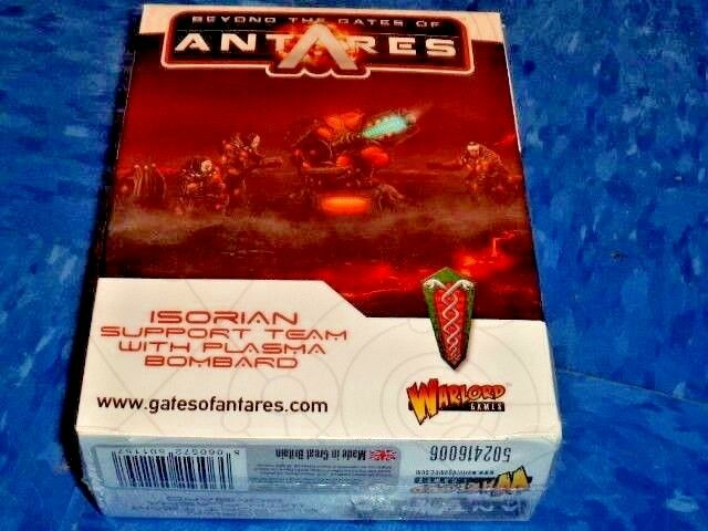 Isorian Support team with Plasma Bombard Beyond the Gates of Antares Warlord New