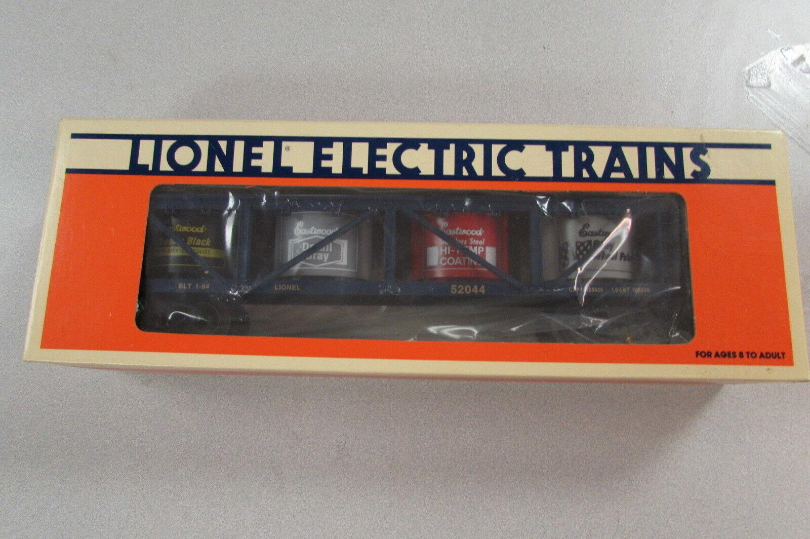 Lionel 6-52044 Eastwood VAT Car Railroad Train - NOS - Free Ship