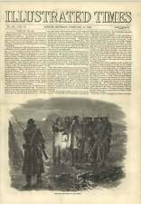 1856 Relieving Night Guard In The Crimea Before Sebastopol