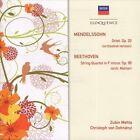 Beethoven: STR QRT 11/Mendelssohn: Oct in E Flat (CD, Apr-2009, Eloquence (Argentina))